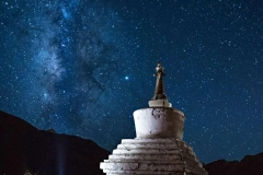 Via lattea a Rangdum, Ladakh