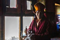 Monaco buddista della valle dello Zanskar