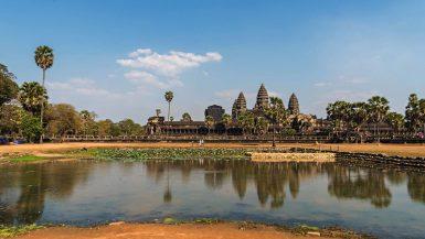la bellezza del tempio di Angkor Wat