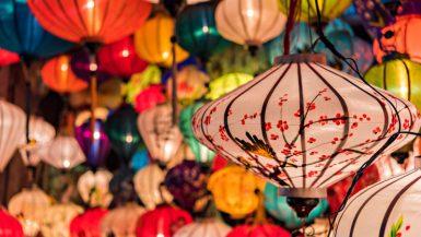 Lanterne dalle forme e dai colori incredibili della cittadina di Hoi An