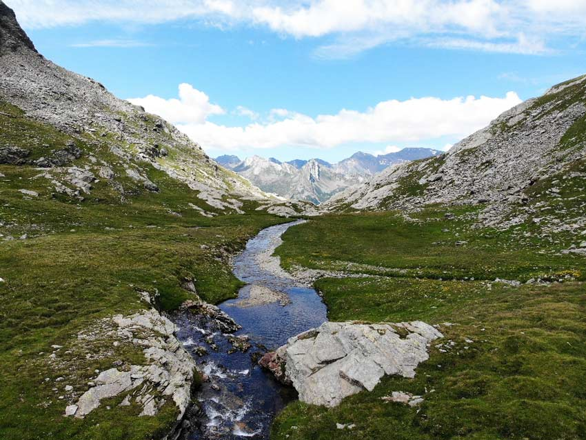 Concludiamola nostra escursione arrivando a passo Baldiscio godendoci la vista sul versante svizzero